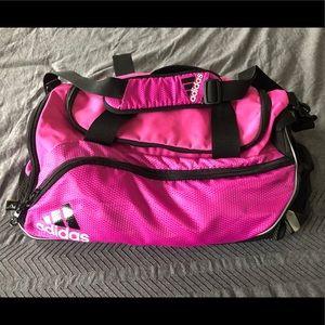 ⛹️🏻♀️Hot Pink Adidas Gym Duffel